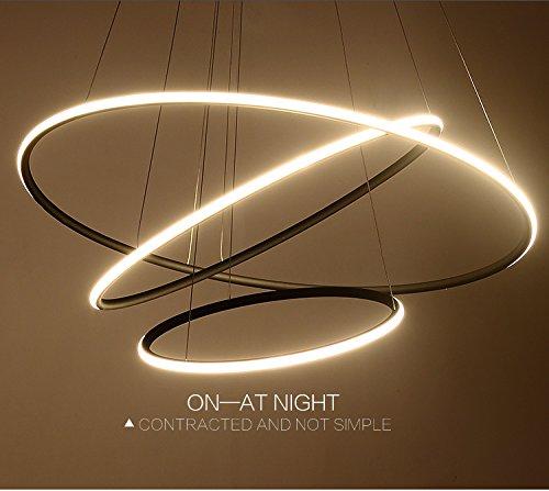 Saint Mossi® Exklusiv Entwurf Modern Kronleuchter LED Deckenleuchte Drei Stufe Leuchter Aussehen Einstellbar LED Lichtquelle Integriert