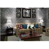 Moderne Braune Graue Weiße Schwarze Ziegelstein Tapete Für Wände 3 D Für  Schlafzimmer Wohnzimmer