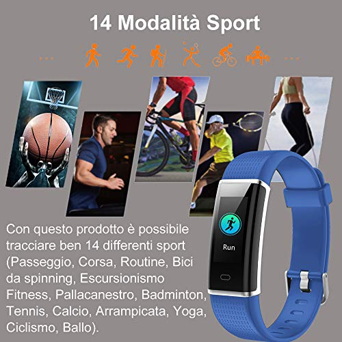 Zoom IMG-3 willful orologio fitness tracker uomo