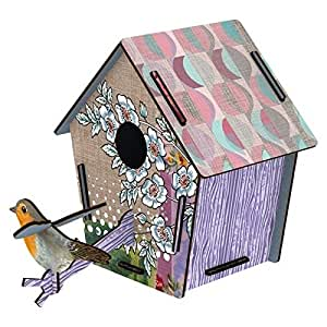 Miho - Décoration murale - Cabane a Oiseaux Guestroom (moyen modele)
