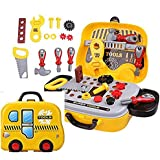 Funnytool Pretend Play Set Pretend PlaySet, Little Engineer Pretend Toolbox Construction Tools, Role Play Engineer Workshop Tool Kit For Kids (Colors May Vary) -01
