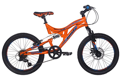 RAD Boy Ripper MX 20 Bike, Orange, 12-Inch