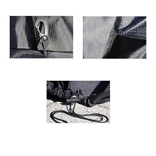 Wetterschutz Heizstrahler Schutzfolie Abdeckung UV-Schutz 102,5 x 62 x 102,5 cm - 2