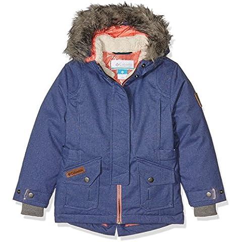 Columbia Boy 's Barlow Paso abajo sintética con aislamiento parte superior chaqueta, Niños, color Bluebell, tamaño XL