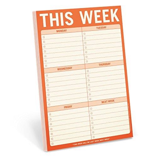 Pad: This Week (Knock Knock Pad)