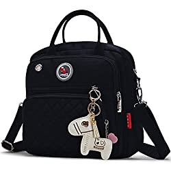 Lcy Designer Organizer Small Baby Nappy Changing Bag Tote Messenger Backpack Changing Bag-black
