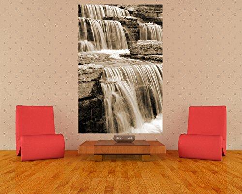 bilderdepot24-photo-wallpaper-wall-mural-waterfall-1-sepia-brown-5906-inch-x-9055-inch-150x230-cm-ma