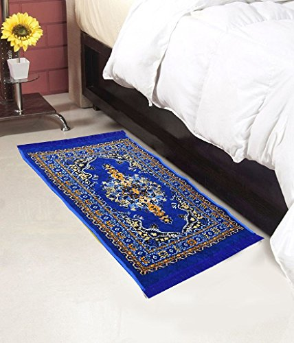 Home Elite Abstract Polyester Bedside Runner - 30