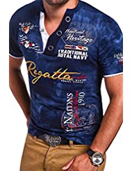 MT Styles Henley col à boutons T-Shirt REGATTA homme MT-440