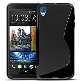 Conie HTC Desire 820 Silikon Hülle - Case in Schwarz