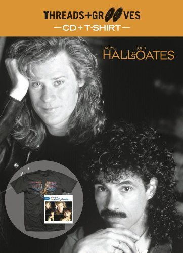 Threads + Grooves (Playlist CD + Large T-Shirt) by HALL, DARYL & JOHN OATES (2013-02-12)