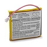 vhbw Li-Polymère Batterie 1100mAh (3.7V) pour système de Navigation GPS Coyote Plus...