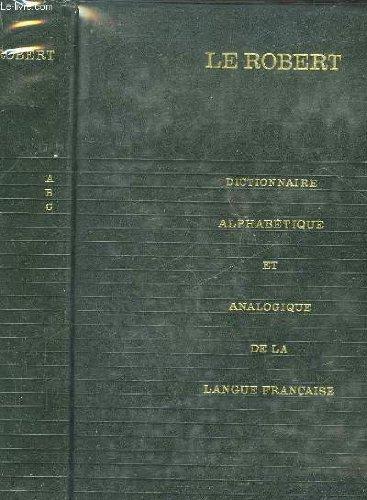 Dictionnaire alphabetique et analogique - 6 tomes + supplement
