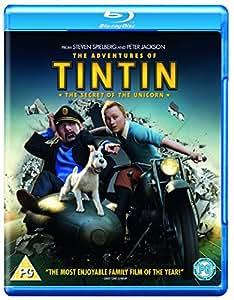 The Adventures of Tintin: The Secret Of The Unicorn [Blu-ray] [Region Free]