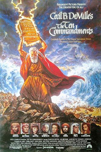 Die zehn Gebote - The Ten Commandments (1956)   US Import Filmplakat, Poster [68 x 98 cm]