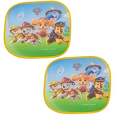 Paw Patrol - Juego de 2 parasoles Plegables para Ventana de Coche para protección de los niños por Paw Patrol