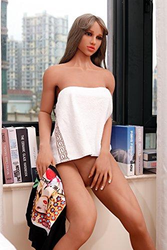 173CM Real Sex Doll Lebensechte Sexpuppe Liebespuppe TPE Love Doll 3 Öffnungen F Cup Sex Spielzeug für Männer - 2