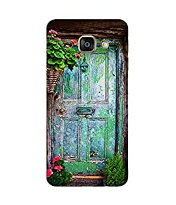 Blue Door Samsung Galaxy A7 2016 Edition Printed Back Cover