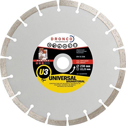 Preisvergleich Produktbild Dronco perfekt U3–Fahren tronzador, Obra Universal (Diamant), 115 mm, 1