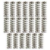 ALLNICE Legierungsspule Stempeln Beheizte Bett Kompression Drucker Sterben Frühling für 3D Drucker Extruder DIY Zubehör (20x7.5x5mm)