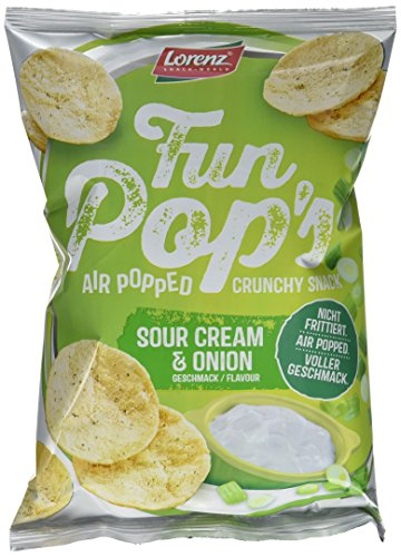 Lorenz Snack World FunPop's Sour Cream und Onion, 12er Pack (12 x 85 g) (Onion Chips Cream Sour)