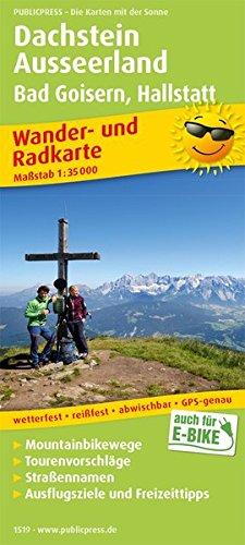Dachstein, Ausseerland, Bad Goisern, Hallstatt: Wander- und Radkarte mit Ausflugszielen & Freizeittipps, wetterfest, reißfest, abwischbar, GPS-genau. 1:35000 (Wander- und Radkarte / WuRK)