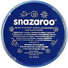 Snazaroo - Pintura facial y corporal, 18 ml, color azul oscuro