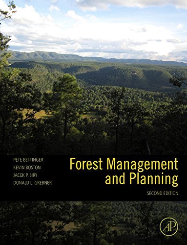Forest Management and Planning by Peter Bettinger (2008-10-08)