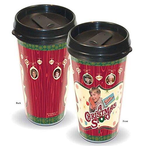 Une histoire de Noël Tasse de café Voyage Ralphie 16 Oz plastique