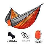 YoZhanhua Hamaca de Camping de Nailon Ligero, portátil, Mejor paracaídas para mochileros, Camping,...