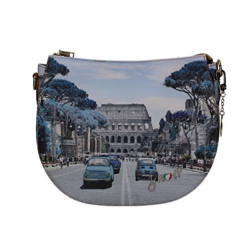 Borsa a tracolla Y Not - H354 Weekend in Rome Multicolor