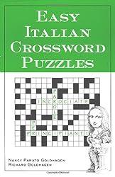 Easy Italian Crossword Puzzles (Language - Italian)