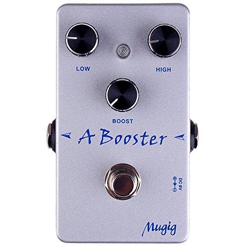 Mugig A Booster Efecto Pedal de abooster para guitarra