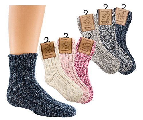 socks-pur-norwegersockchen-wolle-fur-babys-und-kinder-3er-bundel-15-18-rosa-mix