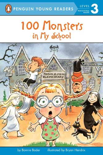 100 Monsters in My School (Penguin Young Readers, Level 3) (English Edition) (Halloween Iii Zahlen)