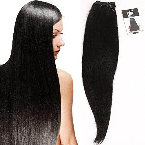 My-lady 7a 100g 60cm extension matassa tessitura brasiliano vergine unprocessed 100% human hair remy capelli veri naturali