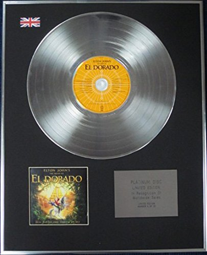 Elton John - Limited Edition CD Platinum Disc - Eldorado