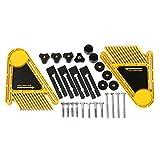 WOVELOT Mehrzweckwerkzeuge Set Doppel Featherboards Tischsaegen Router Tische Zaeune Elektrische Kreissaege DIY Fuer Holzbearbeitungswerkzeuge