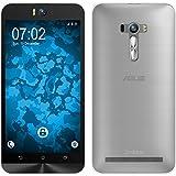 PhoneNatic Case für ASUS Zenfone Selfie Hülle Silikon Clear, Slimcase + 2 Schutzfolien