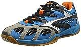 Hi-Tec Herren AD Pro Elite Hallenschuhe, Blau (Electric/Black/Orange 031), 41 EU
