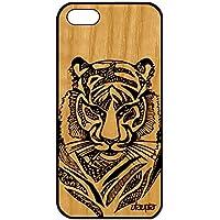 utaupia Coque Silicone Apple iPhone 5 5S Se en Bois Tigre Noir Ethnique  Fauve Tribal 4G b02d94817109