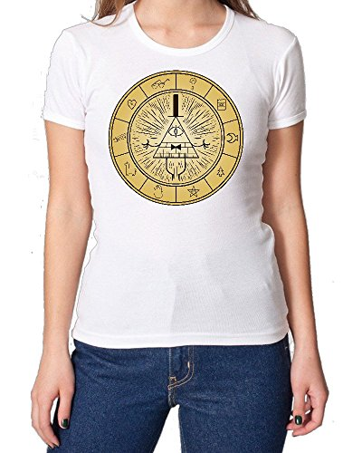 Gravity Falls Bills Destruction Puzzle maglietta da donna XX-Large