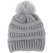 Gorras para bebé, Dragon868 Sombrero de lana de punto invierno caliente recién nacido dobladillo