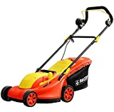 Best ROTARY Mowers - Falcon Electric Rotary Lawn Mower (Red) Review