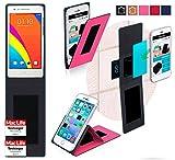 reboon Hülle für Oppo Mirror 3 Tasche Cover Case Bumper | Pink | Testsieger