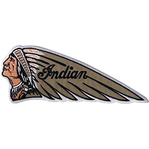 Indian Patch Eisen nähen auf bestickt Aufnäher Biker Motorrad Stickerei Badge