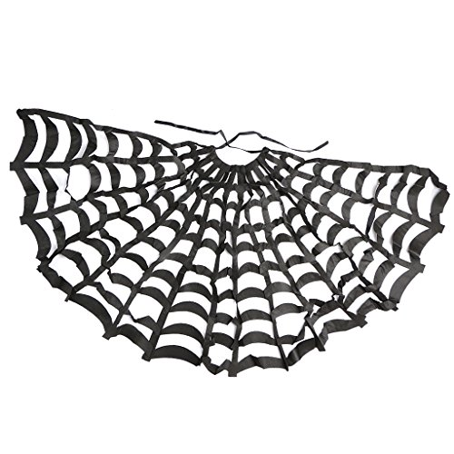 sharplace Erwachsene Herren Lady Cosplay Spider Web Cape Halloween Kostüm Requisiten (Spider Web Cape)