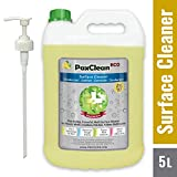 #5: PaxClean : ECO (Citrus) 5L, Multi-Surface Disinfectant Sanitizer Cleaner Concentrate for Floor, Kitchen, Toilet, Germicide - Deodorizer Combo with Pump