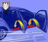 PR-Folia Einstiegsleisten für Fiesta / 5-türer (Typ MK7 Bj.2013-07/2017, Facelift) passend, Steinschlagschutzfolie, Schutzfolie und Autofolie für Türeinstiege, Lackschutzfolie in Transparent