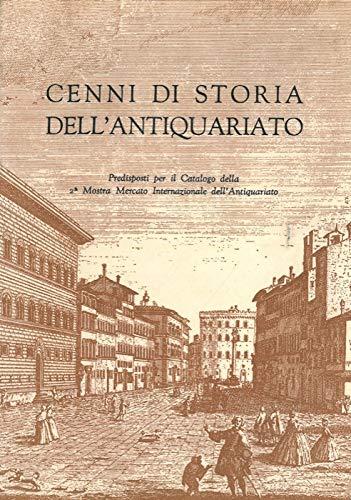 Cenni di storia dell'antiquariato.